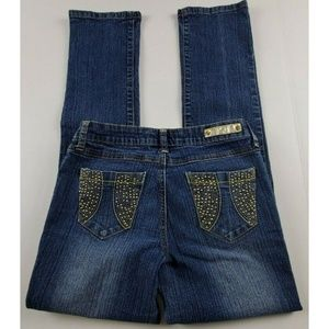 Southpole Mid Rise Straight Leg Jeans
